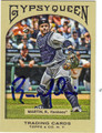 RUSSELL MARTIN AUTOGRAPHED BASEBALL CARD #71711F