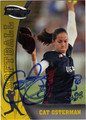 CAT OSTERMAN AUTOGRAPHED CARD #71811K