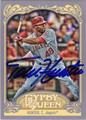 TORII HUNTER AUTOGRAPHED BASEBALL CARD #71812C