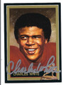 CHARLES WHITE AUTOGRAPHED CARD 72210A