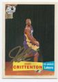 JAVARIS CRITTENTON AUTOGRAPHED CARD #72210E