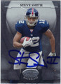 STEVE SMITH AUTOGRAPHED FOOTBALL CARD #72211F