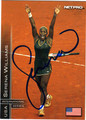 SERENA WILLIAMS AUTOGRAPHED TENNIS CARD #72411J