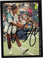 PETE SAMPRAS AUTOGRAPHED TENNIS CARD #72411L