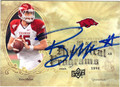 RYAN MALLETT ARKANSAS RAZORBACKS AUTOGRAPHED ROOKIE FOOTBALL CARD #72513D
