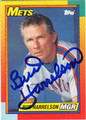 BUD HARRELSON NEW YORK METS AUTOGRAPHED BASEBALL CARD #72613E