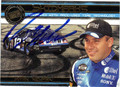 RYAN NEWMAN AUTOGRAPHED PIECE OF THE GAME NASCAR CARD #72811P