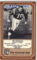 ART DONOVAN AUTOGRAPHED VINTAGE FOOTBALL CARD #72812C
