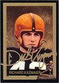 RICHARD KAZMAIER PRINCETON UNIVERSITY AUTOGRAPHED FOOTBALL CARD #72813B