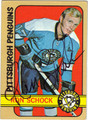RON SCHOCK AUTOGRAPHED VINTAGE HOCKEY CARD #72912D