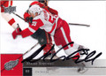 NIKLAS KRONWALL DETROIT RED WINGS AUTOGRAPHED HOCKEY CARD #72913i