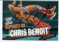 CHRIS BENOIT AUTOGRAPHED CARD #73010A