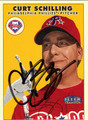 CURT SCHILLING AUTOGRAPHED BASEBALL CARD #73011A