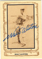 WALT ALSTON LOS ANGELES DODGERS AUTOGRAPHED VINTAGE BASEBALL CARD #73013A
