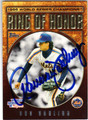 RON DARLING NEW YORK METS AUTOGRAPHED BASEBALL CARD #73013E