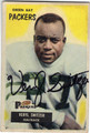 VERYL SWITZER GREEN BAY PACKERS AUTOGRAPHED VINTAGE FOOTBALL CARD #73113B