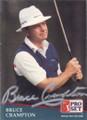 Bruce Crampton Autographed Golf Card 743