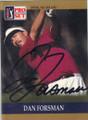 Dan Forsman Autographed Golf Card 754