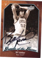 BILL LAIMBEER AUTOGRAPHED BASKETBALL CARD #80111D