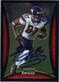 BERNARD BERRIAN MINNESOTA VIKINGS AUTOGRAPHED FOOTBALL CARD #73113K