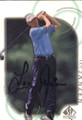 Lee Janzen Autographed Golf Card 800