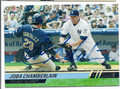 JOBA CHAMBERLAIN AUTOGRAPHED CARD #80210J