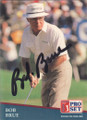 Bob Brue Autographed Golf Card 735