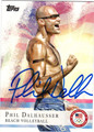 PHIL DALHAUSSER AUTOGRAPHED OLYMPIC SWIMMING CARD #80112D