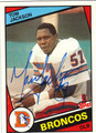 TOM JACKSON AUTOGRAPHED VINTAGE FOOTBALL CARD #80211C