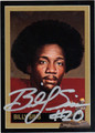 BILLY SIMS AUTOGRAPHED HEISMAN FOOTBALL CARD #80212B