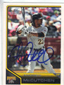 ANDREW McCUTCHEN AUTOGRAPHED BASEBALL CARD #80412D