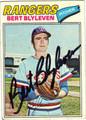 BERT BLYLEVEN TEXAS RANGERS AUTOGRAPHED VINTAGE BASEBALL CARD #80511B