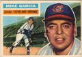 MIKE GARCIA CLEVELAND INDIANS AUTOGRAPHED VINTAGE BASEBALL CARD #80713H