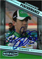 CARL EDWARDS AUTOGRAPHED NASCAR CARD #80811B