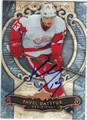 PAVEL DATSYUK DETROIT RED WINGS AUTOGRAPHED HOCKEY CARD #80812D