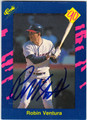 ROBIN VENTURA CHICAGO WHITE SOX AUTOGRAPHED BASEBALL CARD #80713D