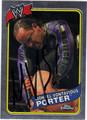 MONTEL VONTAVIOUS PORTER AUTOGRAPHED WRESTLING CARD #80911B