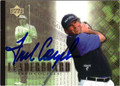 FRED COUPLES AUTOGRAPHED GOLF CARD #81012A