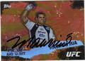MAURICIO RUA UFC CHAMPION AUTOGRAPHED CARD #81213G