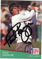 PAUL AZINGER AUTOGRAPHED GOLF CARD #81213i