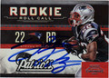 STEVAN RIDLEY AUTOGRAPHED ROOKIE FOOTBALL CARD #81412B