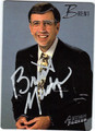 BRENT MUSBURGER AUTOGRAPHED CARD #81511A