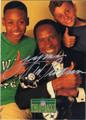 LYNN SWANN PITTSBURGH STEELERS AUTOGRAPHED FOOTBALL CARD #81512E