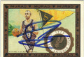 TONY PARKER SAN ANTONIO SPURS AUTOGRAPHED BASKETBALL CARD #81613D