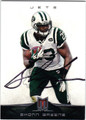 SHONN GREENE NEW YORK JETS RUNNING BACK AUTOGRAPHED FOOTBALL CARD #81613F