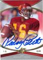RODNEY PEETE USC TROJANS AUTOGRAPHED FOOTBALL CARD #81613G