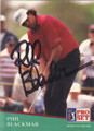Phil Blackmar Autographed Golf Card 817