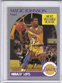 Magic Johnson Autographed Basketball Card #81710GG