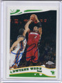 Dwyane Wade Autographed Basketball Card #81710W