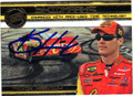 KEVIN HARVICK AUTOGRAPHED PIECE OF THE GAME NASCAR CARD #81813D